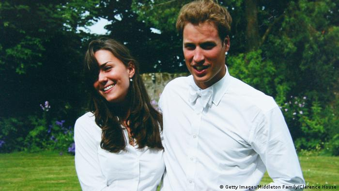 Prince William and Kate Middleton in 2005 (Photo: Getty Images/Middleton Family/Clarence House)