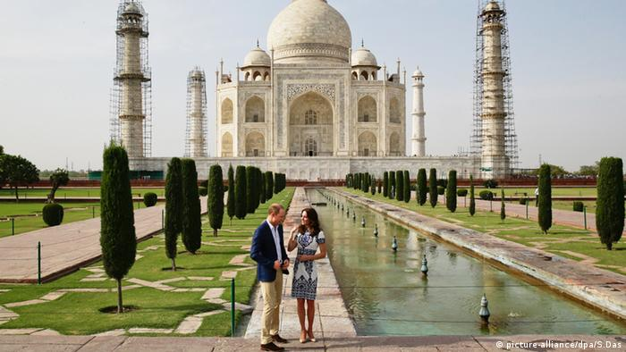 Prinz William und Kate Middleton Herzogin von Cambridge (picture-alliance/dpa/S.Das)