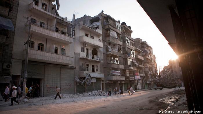 Syrien Krieg Kämpe in Aleppo 2012