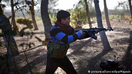Syrien Krieg Kämpfe in Region Aleppo 2012
