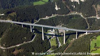 The Europa bridge at Brenner pass