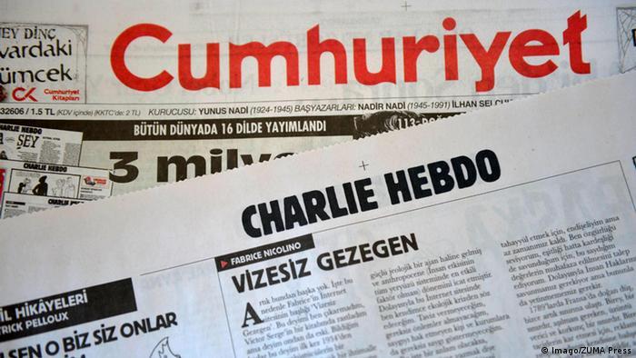 Türkei Cumhuriyet Kolumne Charlie Hebdo