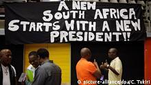 Südafrika Proteste gegen Präsident Jacob Zuma