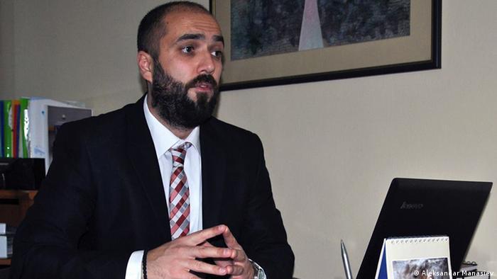 Anwalt Ognen Jovanovski