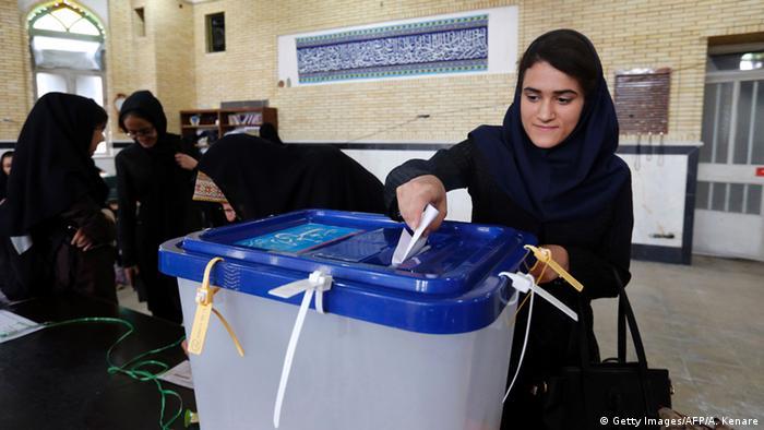 Iran Parlamentswahlen Wähler