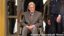 Reinhold Hanning - der Angeklagte auf dem Weg ins Gericht