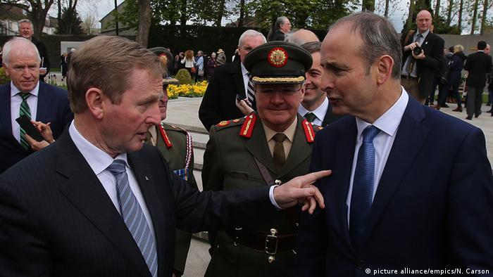 Irland Enda Kenny und Micheal Martin