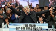 Argentinien Hugo Moyano Streik