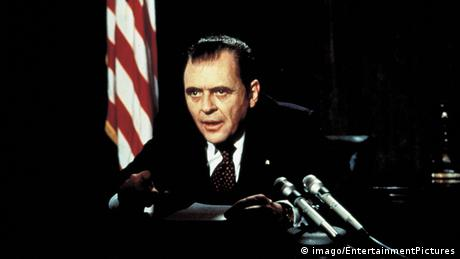 Film still Nixon starring Anthony Hopkins (imago/EntertainmentPictures)