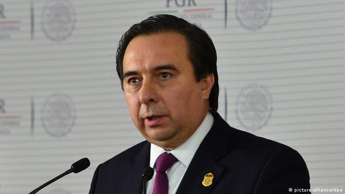 Tomás Zerón, exfuncionario que participó en la investigación inicial del caso