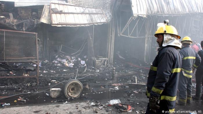 Suicide bomb attack in Baghdad