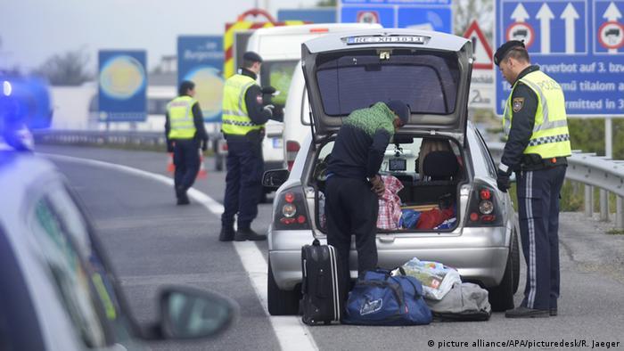 Österreich Grenzkontrollen im Burgenland