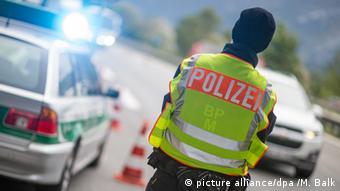 Deutschland Grenzkontrollen Bad Reichenhall Polizei
