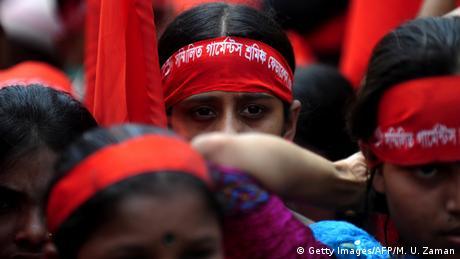 Mayday Chicago 2011 Aktivisten aus Bangladesh (Getty Images/AFP/M. U. Zaman)