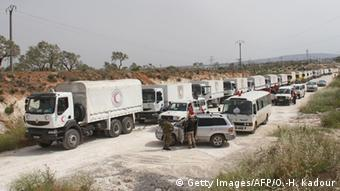 Aid agencies Syria