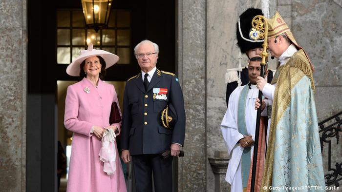 Swedish King Carl XVI Gustaf