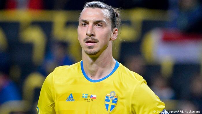 Der schwedische Fußballspieler Zlatan Ibrahimovic (Foto: Getty Images/AFP/J. Nackstrand)