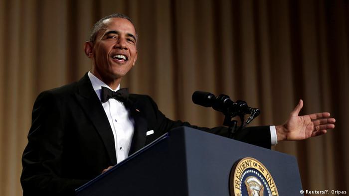 Barack Obama: Comedian-in-chief