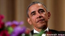 30.4..2016 *** President Barack Obama attends the White House Correspondents' Association annual dinner U.S. President Barack Obama attends the White House Correspondents' Association annual dinner in Washington, U.S., April 30, 2016. REUTERS/Yuri Gripas Copyright: Reuters/Y. Gripas