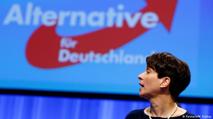 Bundesparteitag der AfD in Stuttgart Frauke Petry (Foto: Reuters)