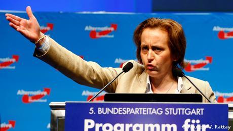 Deutschland AfD Bundesparteitag in Stuttgart Beatrix von Storch (Reuters/W. Rattay)