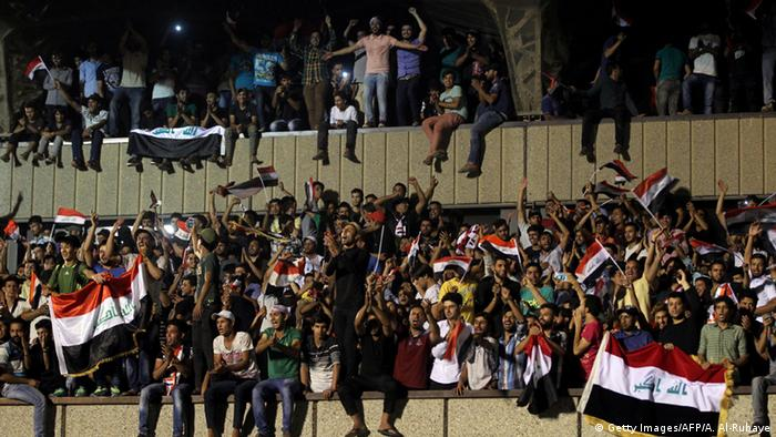 Protesters stormed government buildings in Baghdad's 'Green Zone'