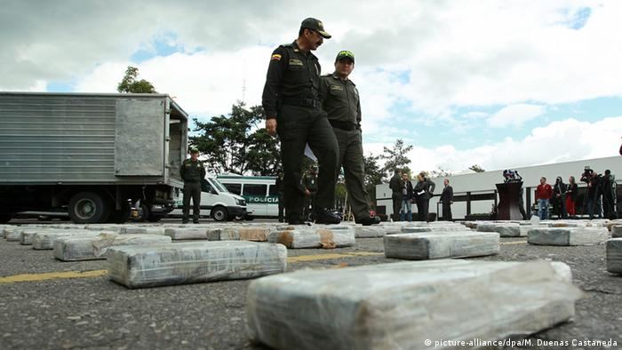 Colombian cocaine seizure