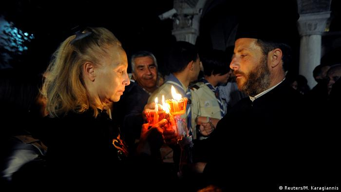 Wielkanoc w Grecji jeszcze przed pandemią