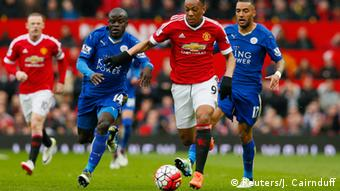 England Fußball Manchester United vs. Leicester City