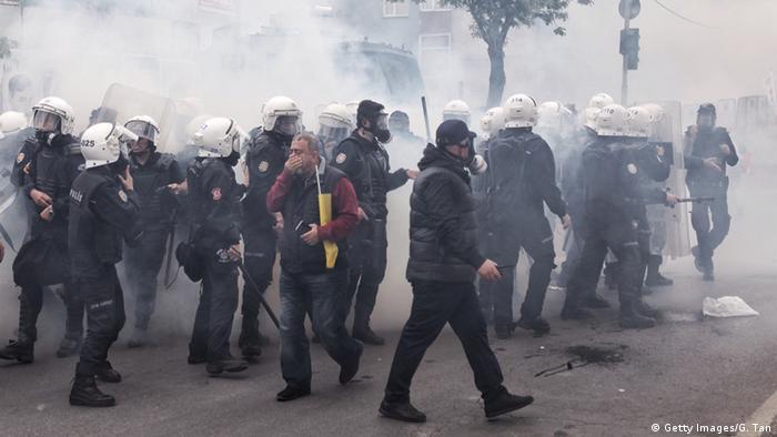Türkei 1. Mai - Proteste und Ausschreitungen in Istanbul