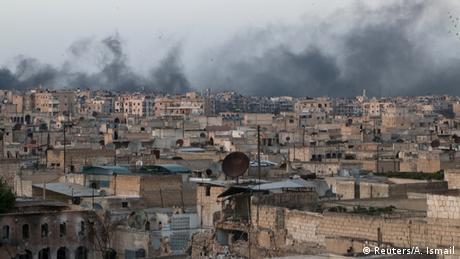 Syrien Krieg Kämpe in Aleppo