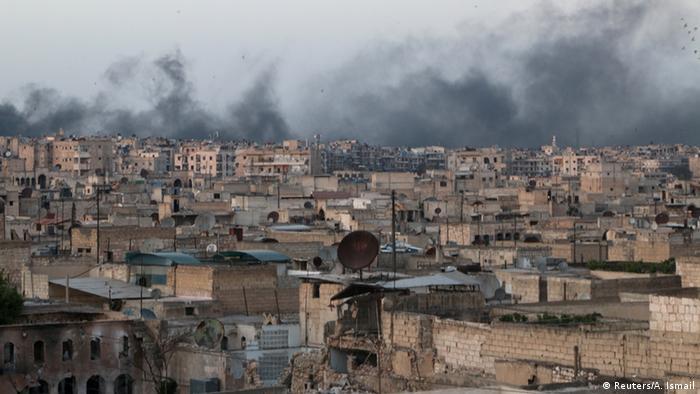 Syrien Krieg Kämpfe in Aleppo (Reuters/A. Ismail)