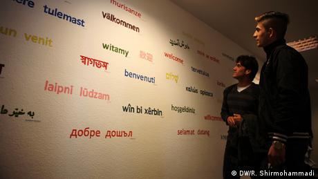 Deutschland Deutschunterricht für Flüchtlinge in Bonn-Bad-Godesberg