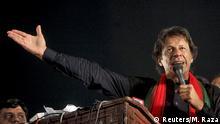 Pakistan Politiker Imran Khan PTI