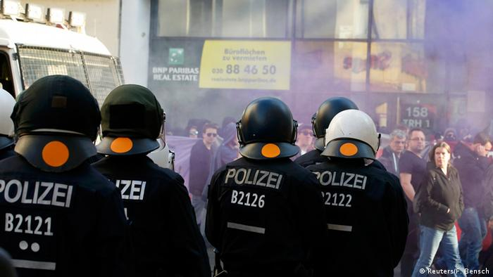 Deutschland Demonstrationen in Berlin
