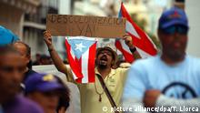 Puerto Rico Internationaler Tag der Arbeit Proteste