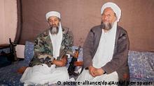 Afghanistan Osama Bin Laden und Ayman al-Zawahiri