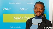 Anwältin, Leiterin des Afrika-Desk der NGO internetsansfrontieres.org. Juroren der diesjährigen Jurysitzung von The Bobs am 29./30. April 2016; Die internationale Jury mit prominenten Netz-Aktivisten hat in Berlin die Preisträger des DW-Awards The Bobs 2016 bestimmt.