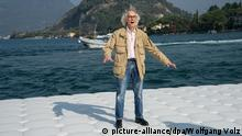 Christo Projekt The Floating Piers