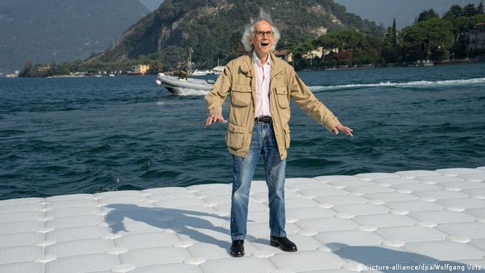 Christo Projekt The Floating Piers (picture-alliance/dpa/Wolfgang Volz)