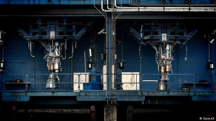 USA SpaceX Merlin Engine