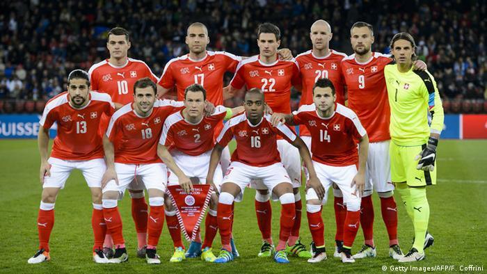 Fußballmannschaft Schweiz
