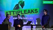 Deutschland PK Greenpeace geheime TTIP Papiere #ttipleaks