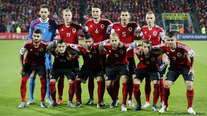 Fußball Fußballmannschaft Albanien
