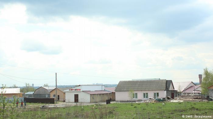 Дома цыган в Плеханово