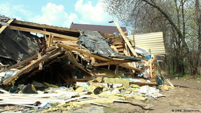 Снесенный дом в Плеханово