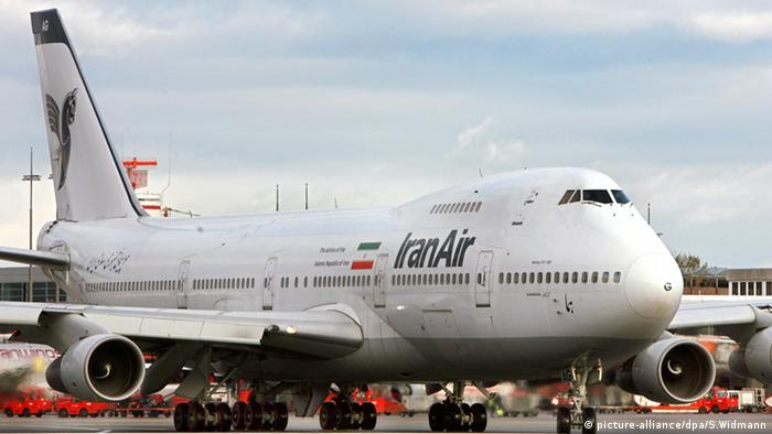 Flugzeug 747 Iran Air (picture-alliance/dpa/S.Widmann)