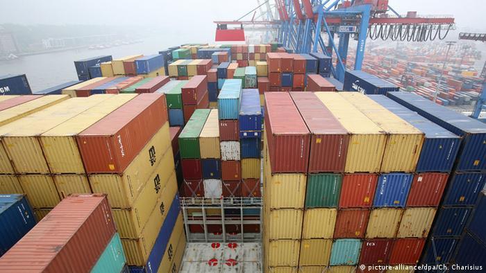 Containerschiff CMA CGM Alexander von Humboldt