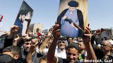 Irak Demo der Unterstützer von Muktada al-Sadr in Bagdad