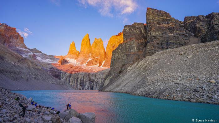 Das Wahrzeichen der Nationalparks Torres del Paine